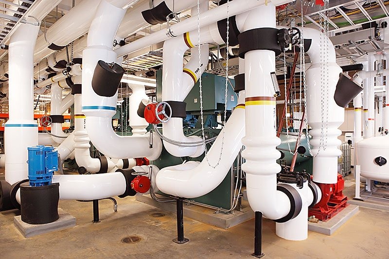 EOS Mechanical piping services